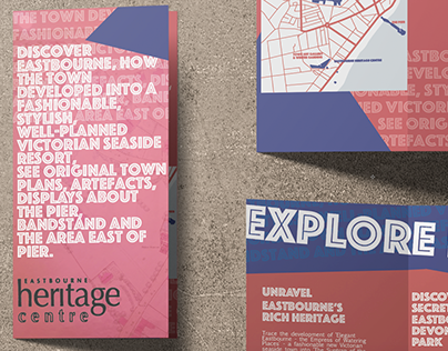 Eastbourne Heritage Centre, museum brochure - C Obligis