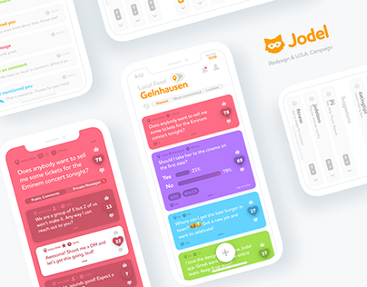 Jodel App – Redesign & Campaign
