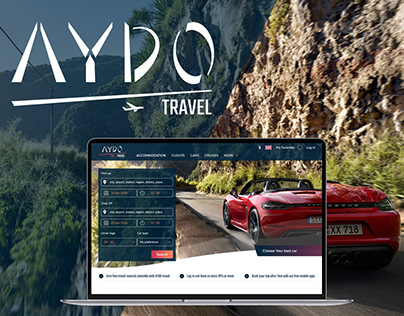 Booking Web App. AYDO Travel, Ui/Ux