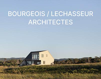 BOURGEOIS & LECHASSEUR ARCHITECTES