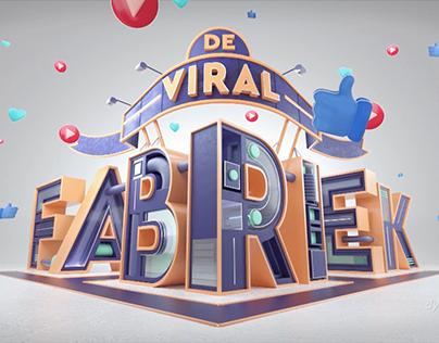 Nickelodeon De Viral Fabriek Logo Design