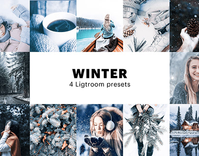 Free Winter Instagram Filter - Lightroom Preset