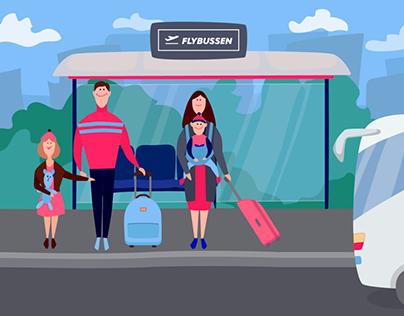 Flybussen animasjonsfilm