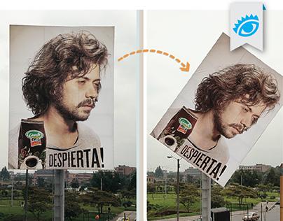 The Nodding Billboard / Media Innovation