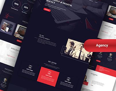 Creative Agency Concept