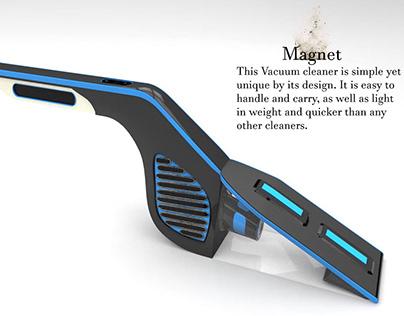 Product Design- Magent (Vacuum Cleaner)