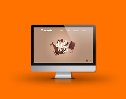 Layout site Chocomila