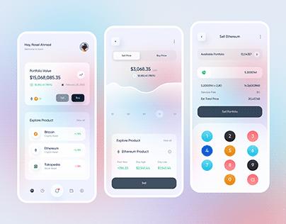 Investment App Design 💰💵