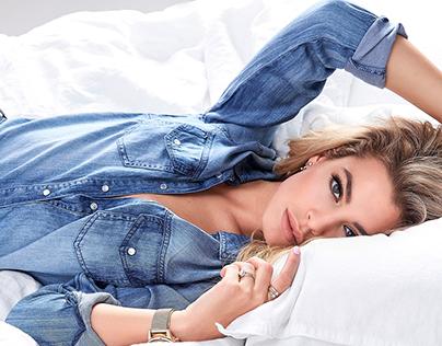 JESSICA GOICOECHEA - Famous Instagramer Denim campaign