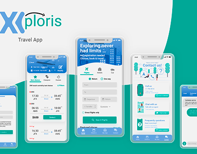 Xploris - Travel App