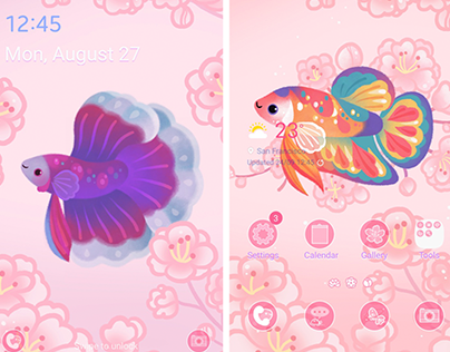 Betta fish Themes
