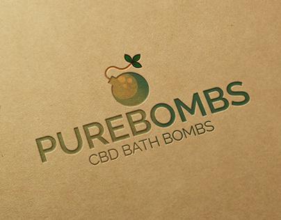 Pure Bombs Logo Presentation