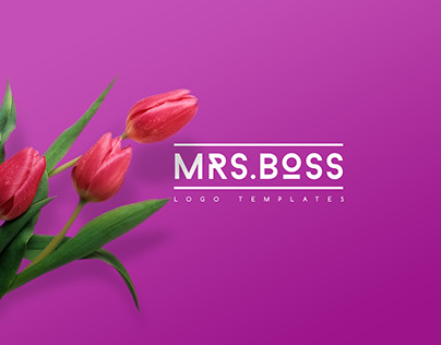 Mrs. Boss Logo Templates