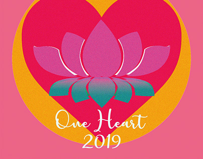 One Heart - Logo and Flyers