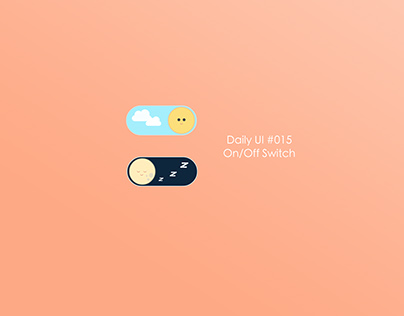 Daily UI #015_On/Off Switch