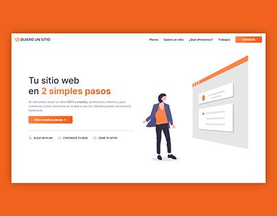 Quiero un Sitio | Website, UI/UX