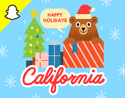 50 States Holiday Filters - Snapchat