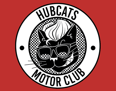 HUBCATS Motorclub patch