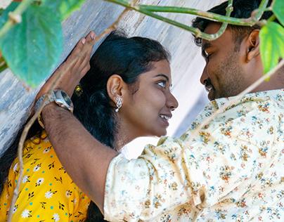 Post wedding - Manjunathan + Mahalakshmi