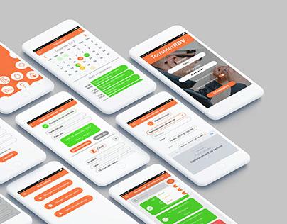 Mobile App & Responsive Website - TousMesRDV