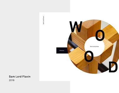 Sam Lord Flavin - Woodmaker Portfolio