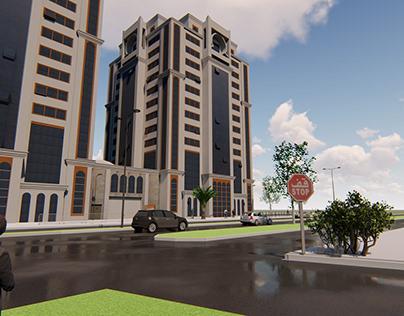 Modélisation de Trust Hotels & Resorts-Marriott (Alger)