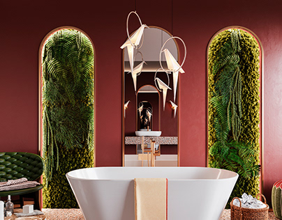 3D - Bathrooms for catalogue