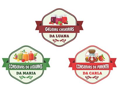 3 Artes desivos - Conserva de Legumes, Pimenta e Geleia