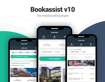 Bookassist v10 - UX/UI