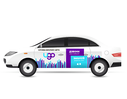 Mobile application UGO taxi