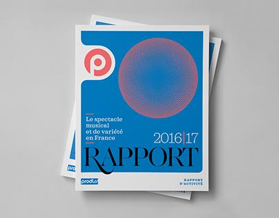 Rapport d'activité 2016/2017 du PRODISS