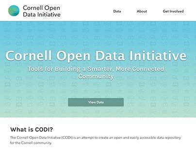 Cornell Open Data Initiative