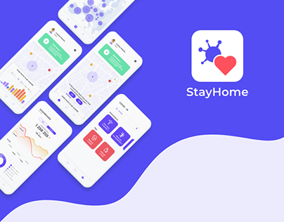 StayHome - EUvsVirus (Mobile Application) | UX/UI