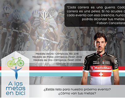 Diapositivas Proyecto A las Metas en Bici