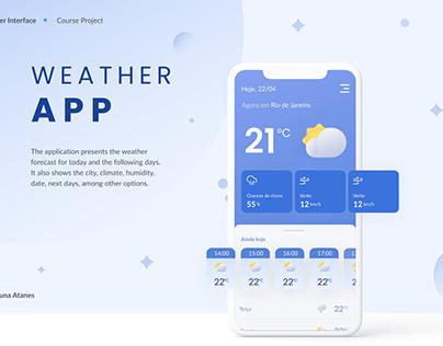 Weather App - UI Project