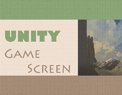 Unity-game screen
