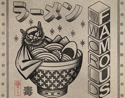 World famous ramen 2020