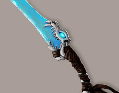 """ICS - Arte para Animação: """"Ice Sword"""" Prop Design"""
