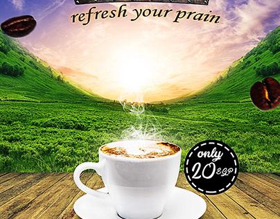 coffe flyer