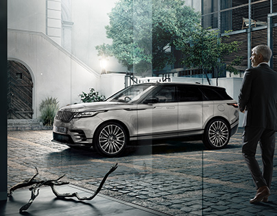 RANGE ROVER VELAR | Full CG Image (Car + Location)