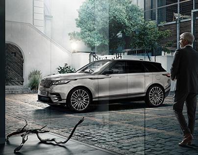 Range Rover VELAR | Full CG Image (Car + Location)