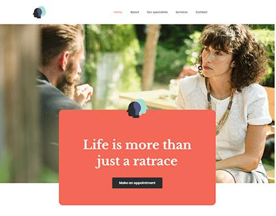 Psychologist Landing Page Wordpress Elementor BeThemes