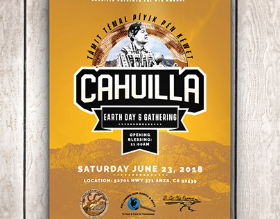 Promotional Flyer: Cahuilla Band of Indians