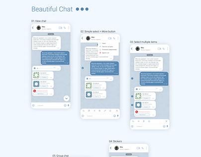 Beautiful chat