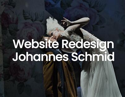 Johannes Schmid – Redesign
