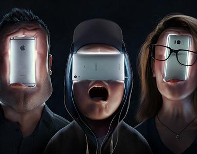 Phone faces