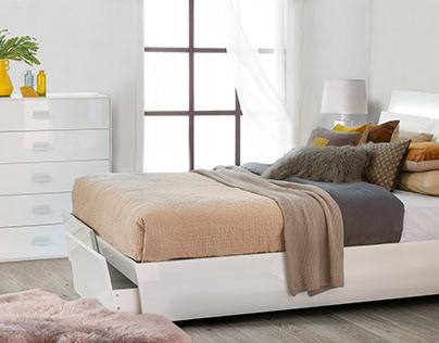 Furniture replacement in bedroom