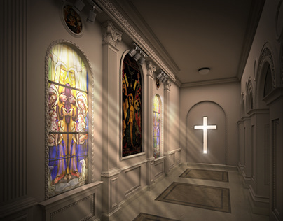Interior Design - Greek Church