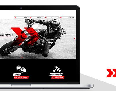 RidePro - Diseño Web y Contenido