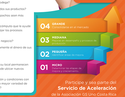 GS1 Costa Rica, graphic design